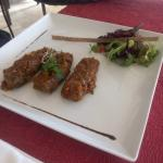 Les sardines de St Gué (entrée menu 23€)