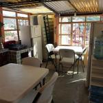 A cozinha com vistas.