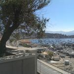 Mercure Ajaccio - vue depuis la terrasse