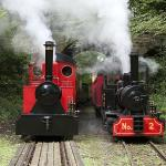 Lappa Valley Steam Railway, Newquay, Cornwall.