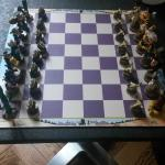 Hotel B11 Chess board