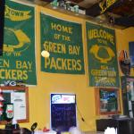 A coup[le of Packer banners