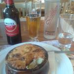 My lunch at Sabbas. (musaka)