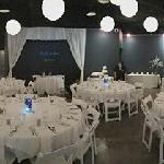 Planetarium set for a wedding