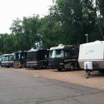 Our spot at Garden of the Gods RV Park
