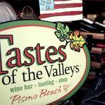 Tastes of the Valleys Wine Bar Logo