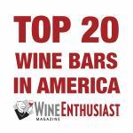 Top 20 Wine Bars in America, Wine Enthusiast Magazine
