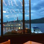 Nice views as you dine.
