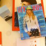 Revistas en la habitación