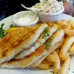 Fresh Sand Dabs with slaw & fries