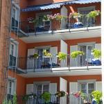 Komfortdoppelzimmer mit Balkon zur ruhigen Hofseite gelegen