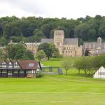 Ampleforth Abbey & cricket pavillion