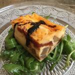 Lunch special appetizer - Mediterranean quiche