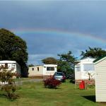 Rainbow over Penhale