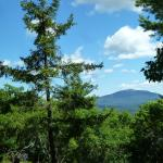 view of grand monadnock in the distance