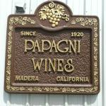 Papagni Wines, Madera, California, USA