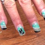 The owners finger nails   :-)