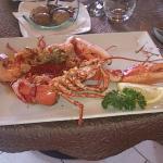 homard grillé