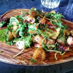 Warm Potato Salad with Octopus
