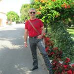 foto in giardino