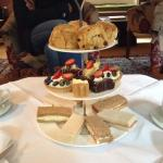 Traditional afternoon tea cooked to perfection