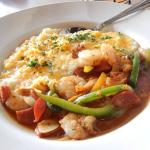 Chicken, Shrimp, Andouille, & Grits