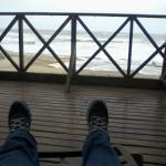 dia muy ventoso y marea alta