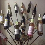 La gamme de vin du domaine du val d'Argan.