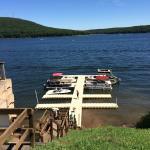 Dock at Lakeside Creamery, Deep Creek Lake