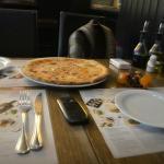 Пицца без грибов