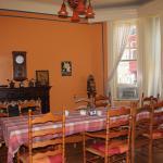 salle de déjeuner commune