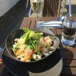 Crab Chilli and Lime Noodle Salad at Vasco