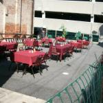 Large outdoor special event seating