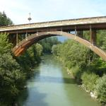 Europe bridge in St. Lorenzen