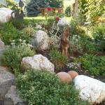 Particolare del giardino