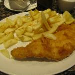 Haddock and chips - small portion!