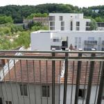 Vue du balcon de la chambre