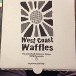 Waffles to go? Sweet...