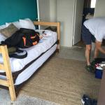 size of supposed to be ''twin beds ''room