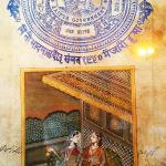 Jaipur Handmade Exclusive Stamp Paper Painting
