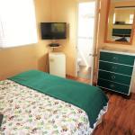 Chambre #5 nouvelle housse de couette duvet et télé écran plat vue sur le lac