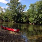 A surprise canoe trip for our daughter