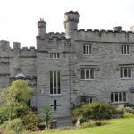 Glandyfi Castle from the garden