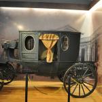 carruagem em exposição no Museu de São Carlos