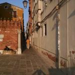 Enter the alley leading from Vaporetto to Campo St Barnaba