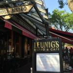 Leunig's Cafe, Church Street, Burlington, Vermont
