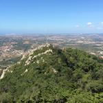 View to Moorish castle