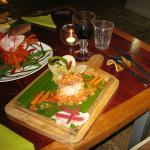 Delicious dishes, included in the rates