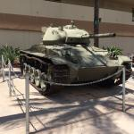 M24 light tank on display