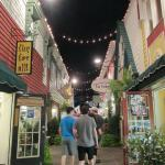 Penny Lane Mall - one of the cute picturesque streets
